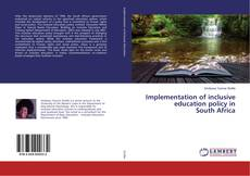 Portada del libro de Implementation of inclusive education policy in South Africa