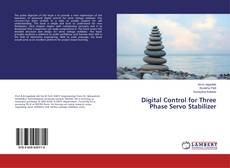 Capa do livro de Digital Control for Three Phase Servo Stabilizer