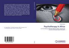 Bookcover of Psychotherapy in Africa