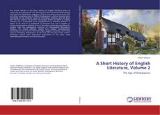 Bookcover of A Short History of English Literature, Volume 2