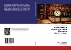 Bookcover of Библиотеки Оренбургской губернии 1865-1919 гг.