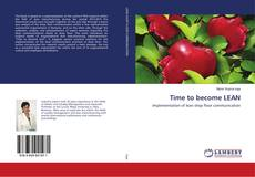 Bookcover of Time to become LEAN