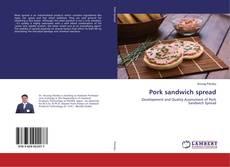Copertina di Pork sandwich spread