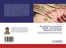 Capa do livro de The Analysis of Sovereign Bonds - case study on Argentina crisis 2001