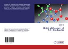 Couverture de Medicinal Chemistry of 1,3,4-Oxadiazoles