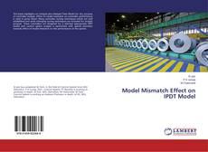 Bookcover of Model Mismatch Effect on IPDT Model