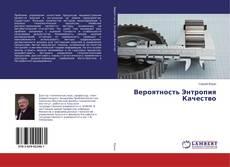 Bookcover of Вероятность Энтропия Качество