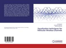 Bookcover of Equalization techniques for Vehicular Wireless Channels