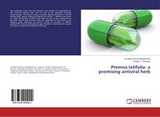 Обложка Premna latifolia: a promising antiviral herb