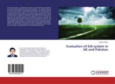 Borítókép a  Evaluation of EIA system in UK and Pakistan - hoz
