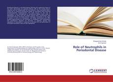 Buchcover von Role of Neutrophils in Periodontal Disease