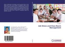 Bookcover of Job Stress and Class Room Management