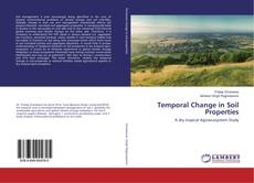 Temporal Change in Soil Properties kitap kapağı