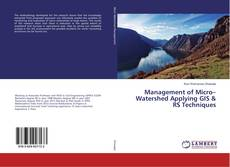 Borítókép a  Management of Micro–Watershed Applying GIS & RS Techniques - hoz