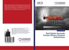 Portada del libro de Özel Eğitim Dersinde Yaratıcı Drama Yöntemi Kullanılması