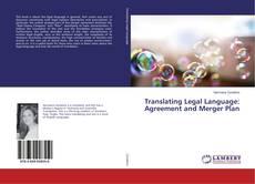 Portada del libro de Translating Legal Language: Agreement and Merger Plan