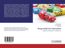 Bookcover of Drug-metal ion interaction