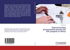 Buchcover von Subcontracting procurement process for EPC projects in Africa