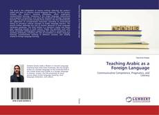 Bookcover of Teaching Arabic as a Foreign Language