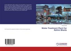 Bookcover of Water Treatment Plant For Rohini Bhoite