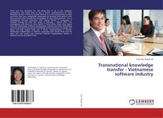 Borítókép a  Transnational knowledge transfer - Vietnamese software industry - hoz