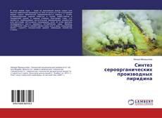 Bookcover of Синтез сероорганических производных пиридина