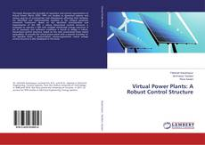 Buchcover von Virtual Power Plants: A Robust Control Structure