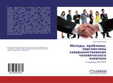 Bookcover of Методы, проблемы, перспективы совершенствования человеческого капитала