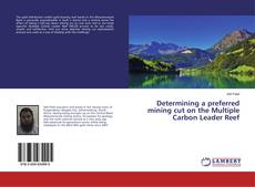 Bookcover of Determining a preferred mining cut on the Multiple Carbon Leader Reef
