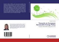 Towards an European Renewable Energy Policy的封面