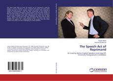 Copertina di The Speech Act of Reprimand