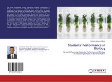 Portada del libro de Students' Performance in Biology