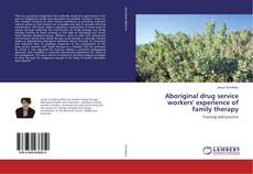 Bookcover of Aboriginal drug service workers' experience of family therapy