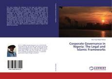 Capa do livro de Corporate Governance in Nigeria: The Legal and Islamic Frameworks