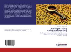Bookcover of Challenges Facing Curriculum Planning