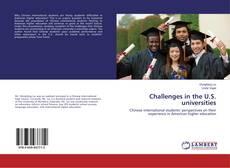 Bookcover of Challenges in the U.S. universities
