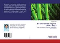 Borítókép a  Bioremediation via plant tissue culture - hoz