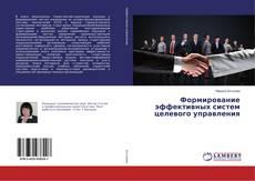 Bookcover of Формирование эффективных систем целевого управления
