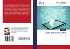 Ulusal Yenilik Sistemleri kitap kapağı