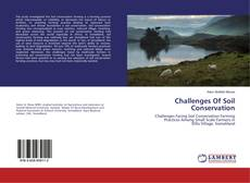 Copertina di Challenges Of Soil Conservation