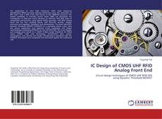 Couverture de IC Design of CMOS UHF RFID Analog Front End