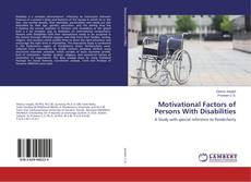 Bookcover of Motivational Factors of Persons With Disabilities
