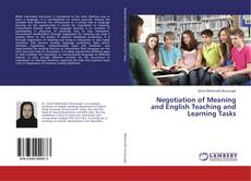 Buchcover von Negotiation of Meaning and English Teaching and Learning Tasks