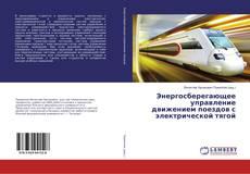 Copertina di Энергосберегающее управление движением поездов с электрической тягой