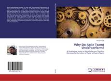 Bookcover of Why Do Agile Teams Underperform?