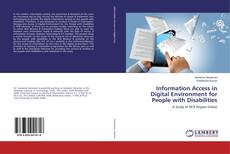 Bookcover of Information Access in Digital Environment for People with Disabilities