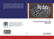 Bookcover of Privacy Preserving in Big Datasets