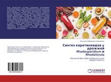 Обложка Синтез каротиноидов у дрожжей Rhodosporidium и Rhodotorula