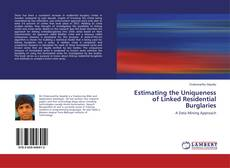 Copertina di Estimating the Uniqueness of Linked Residential Burglaries