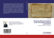Bookcover of Minority Representation under Ethiopian Federal parliament